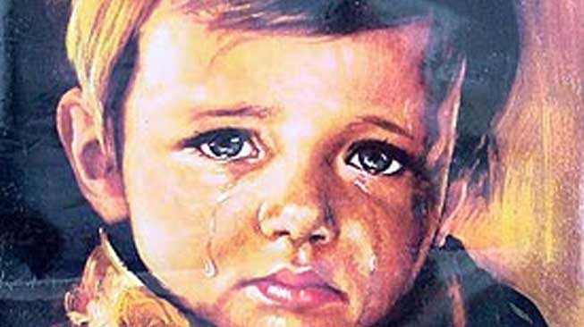 The Crying Boy – Bruno Amadio